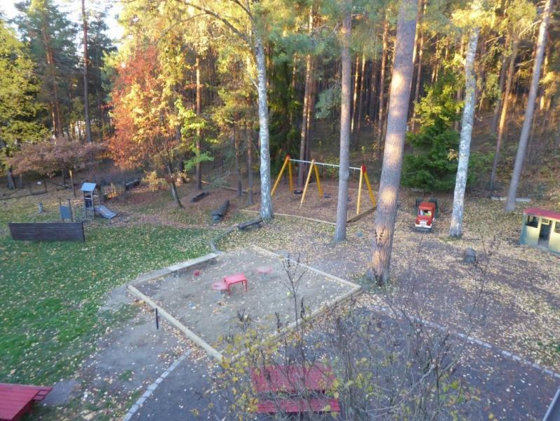 Playground for the youngest ones.